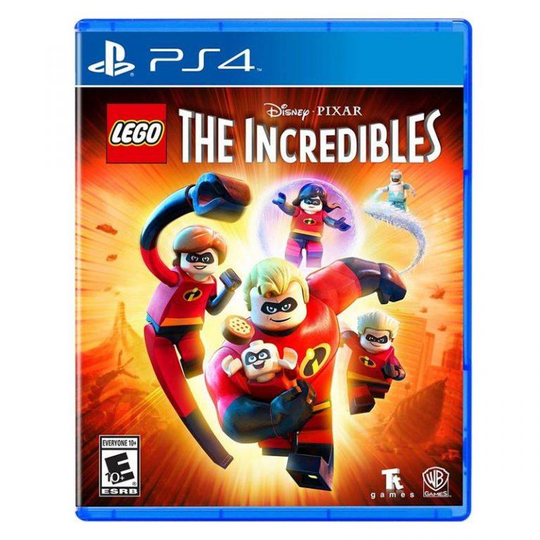 بازی LEGO THE INCREDIBLES PS4 R2