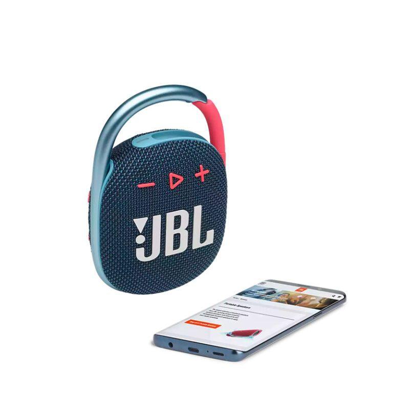 اسپیکر JBL CLIP 4 Blue/Pink